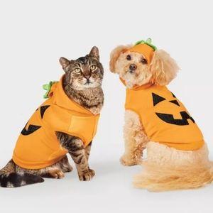 Pumpkin Halloween Dog and Cat Hoodie - Hyde & EEK!